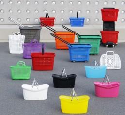 cestas plastico para supermercados y tiendas image