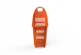 Shopping Basket Bond Orange