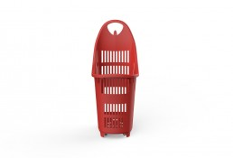 Shopping Basket Bond Red
