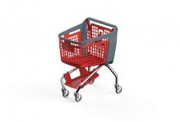 Shopping-Basket-Bravo-Red