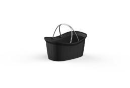 Shopping Basket Delux Black ort