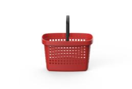 Shopping Basket Great Red
