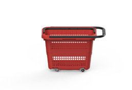 Shopping Basket RB32 Red