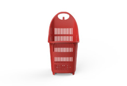 Shopping Basket Superbond Red