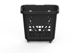 Shopping Basket XXL Black
