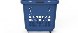 Shopping Basket XXL Blue