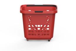 Shopping Basket XXL Rouge