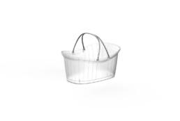 Shopping Basket Delux Translucent ort