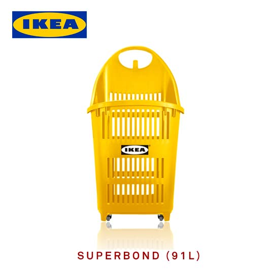 Ikea - -Customized basket