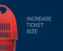 increase ticket size