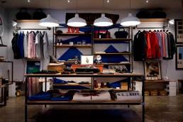 photo d'une étagère d'un magasin