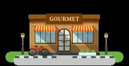 Gourmet-supermarket